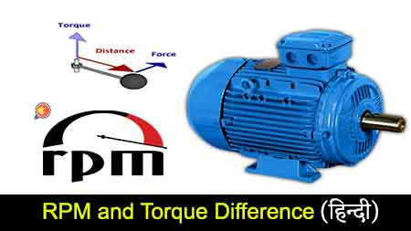 RPM and Torque Difference